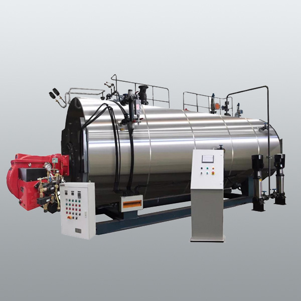 WNS6T ASME  gas-oil steam boiler